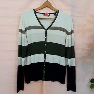 Valerie Stevens Striped Sweater